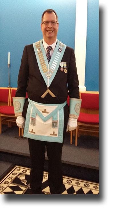 Roger Bosley Master Verulam Lodge 6131